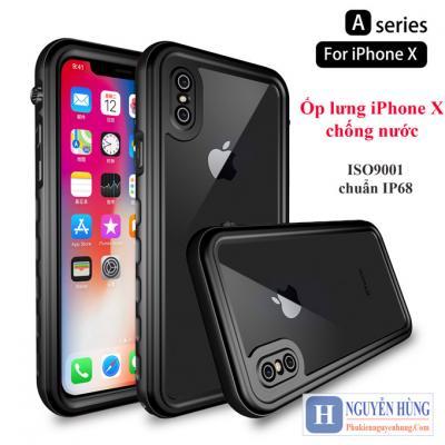 Ốp lưng iPhone X-XS chống nước chuẩn IP68 – ISO9001