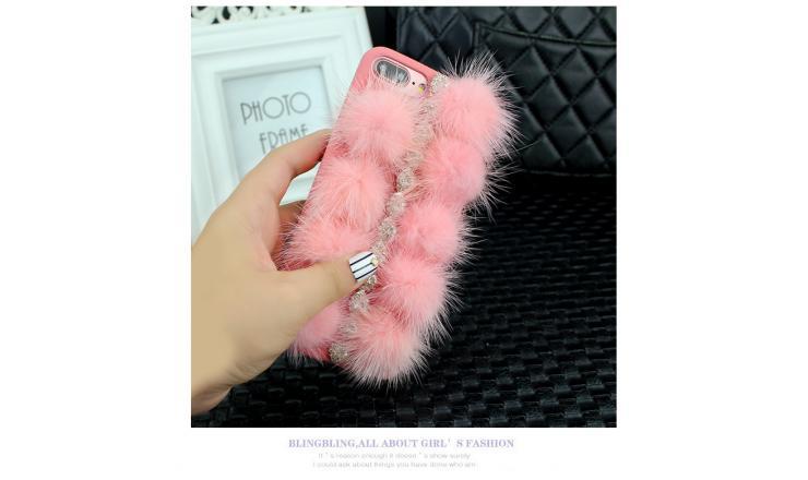 Ốp lưng iPhone X-XS lông thú cực thời trang giá rẻ