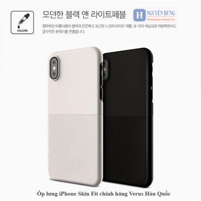 Ốp lưng Skin-Fit mỏng cho iPhone X-XS chính hãng Verus Hàn Quốc