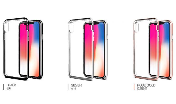 Ốp lưng Hàn Quốc Crystal Bumper cho iPhone X-XS chính hãng Verus