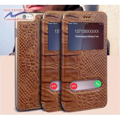 Bao Da Cá Sấu iPhone 8 8 PLus -iPhone 7 7 Plus – GusTell chính hãng
