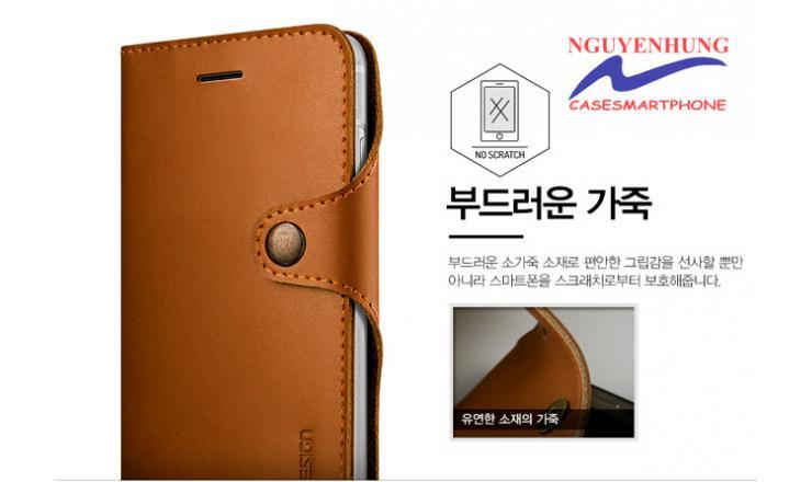 Bao Ví da thật Hàn Quốc iPhone iP8-8 Plus-7-7 Plus- Verus
