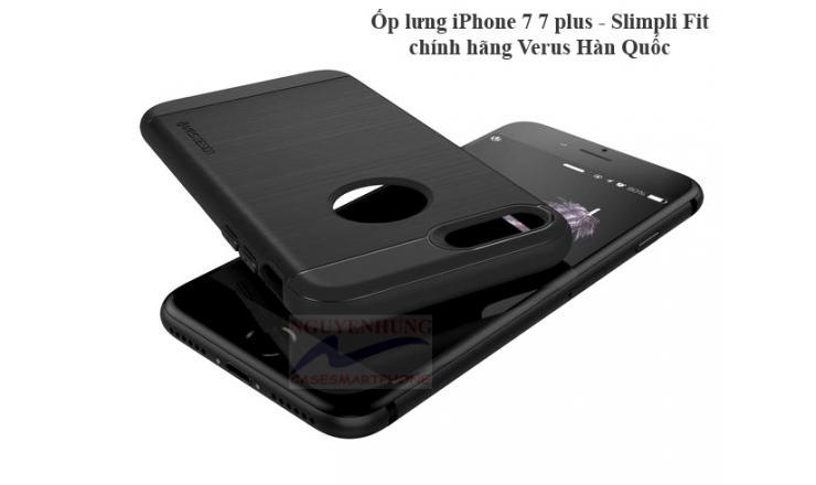 Ốp Lưng Hàn Quốc Slimpli-Fit iP7-7 PLus-IP8-8 Plus rất mềm mỏng