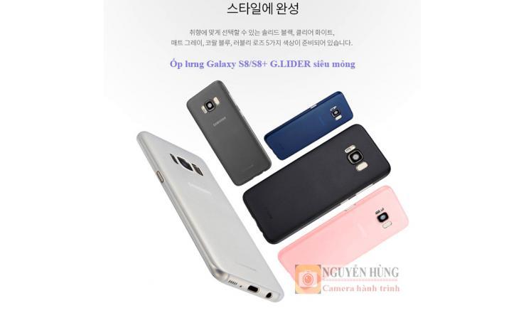 Ốp lưng Galaxy S8/S8+ Siêu mỏng G.lider Hàn Quốc
