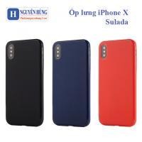 Ốp Lưng iPhone X-XS - Sulada V1 siêu mềm mỏng mịn