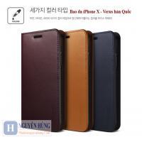 Bao da thật iPhone X-XS chính hãng Verus Hàn Quốc