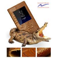 Bao da cá sấu Galaxy S8-S8 Plus cao cấp chính hãng Gustell