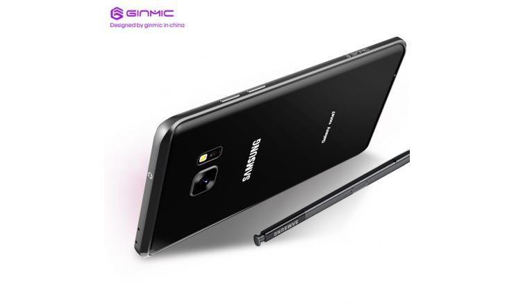 Ốp viền kim loại Galaxy Note FE – Ginmic tuyệt đẹp