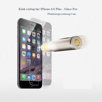 Kính cường lực iPhone 6 / iPhone 6 Plus Glass-Pro giá rẻ