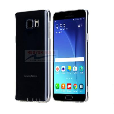 Ốp lưng Galaxy Note FE – Rock siêu mỏng trong suốt