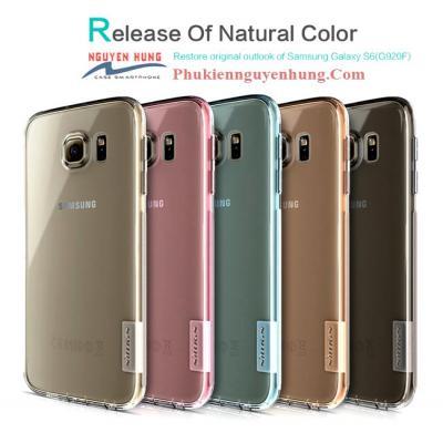 Ốp Lưng Galaxy S6 Trong Suốt Siêu Mỏng Mềm Dẻo – Nillkin