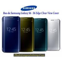 Bao da Galaxy S6 (S6 Edge) Clear View Cover Chính ...