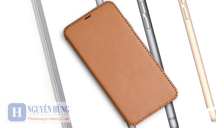Bao da Flipcover iPhone Xs Max - Khacten Made in VN | 100% da thật