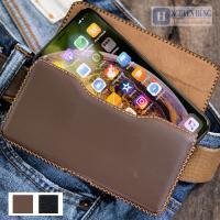 Bao Da Đeo Thắt Lưng iPhone X Xs  [Da thật 100% Ha...