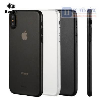 Ốp lưng Benk iPhone X XS siêu mỏng chính hãng Benks