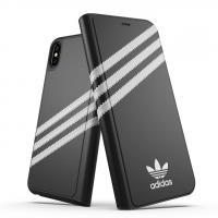Bao Da iPhone Xs Max - Adidas Booklet Case PU Chính Hãng [Có Khe ATM]