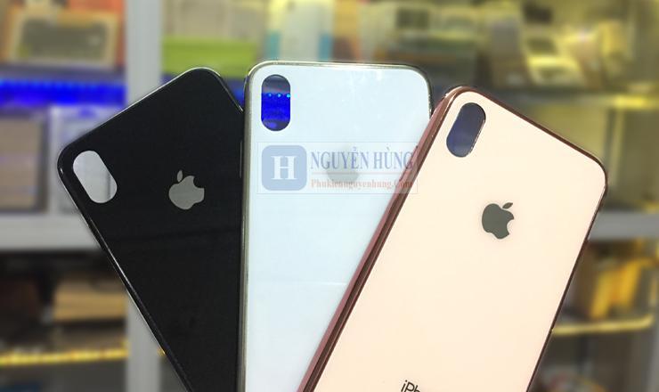 Ốp lưng iPhone X-XS-XS Max - IP2 bóng đẹp như máy