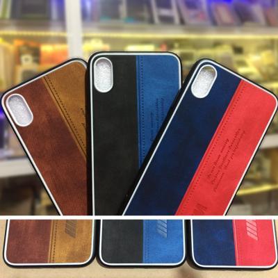 Ốp lưng iPhone X-XS-XS Max - IIIM dạng vải tuyệt đẹp thời trang