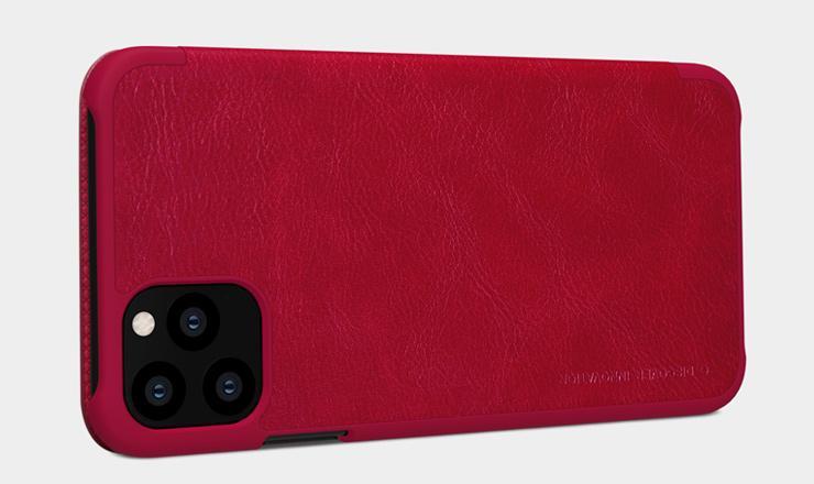 Bao da QIN iPhone 11 Pro Max chính hãng Nillkin [Mỏng - Gọn - Nhẹ]