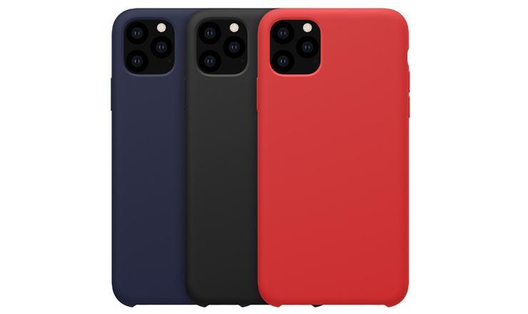 Ốp lưng iPhone 11 Pro Flex Nillkin - Liquid Silicol mềm mịn