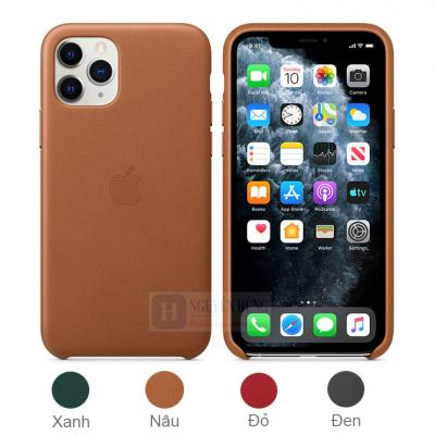 Ốp lưng da iPhone 11 Pro - V1 Leather Case da thật cao cấp sang trọng