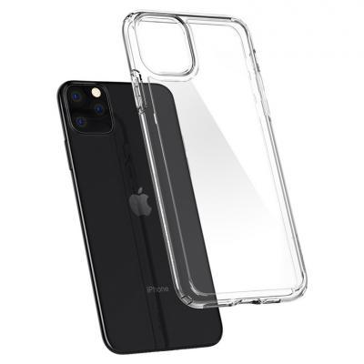 Ốp lưng trong suốt iPhone 11 Pro - Spigen Crystal Hybrid siêu bảo vệ không ố vàng
