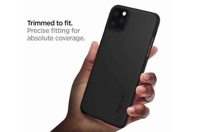 Ốp lưng ThinFit iPhone 11 Pro Max - Chính hãng Spigen Mỹ