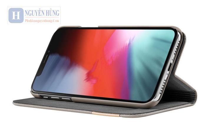 Bao da Psestige Folio iPhone 11 Pro - cao cấp chính hãng LAUT của Đức
