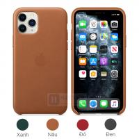 Ốp lưng da iPhone 11 Pro - V1 Leather Case da thật...