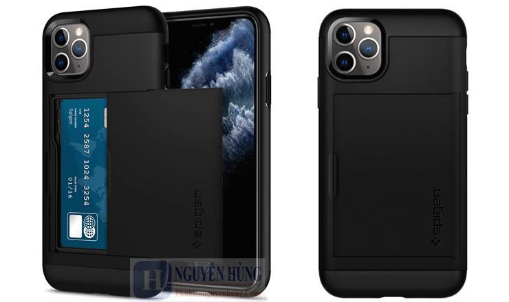 Ốp lưng Slim Armor CS iPhone 11 Pro Max - Spigen chính hãng cao cấp