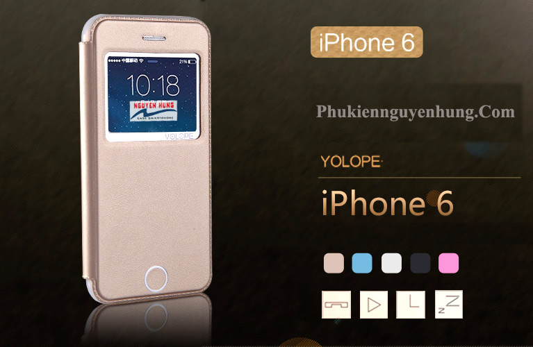 bao da Yolope iphone 6